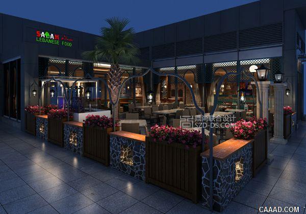 深圳SALAM阿拉伯餐厅设计皇庭广场店